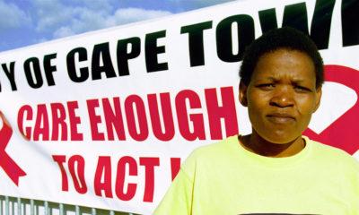 Banco Mundial/Trevor Samson Gloria, que es VIH positiva hace parte de la comunidad de Khayelitsha y colabora con una campaña de concienciación.