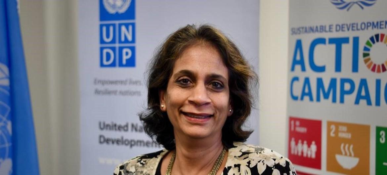 PNUD Kanni Wignaraja, Subsecretaria General y directora de la Oficina Regional para Asia y el Pacífico del Programa de las Naciones Unidas para el Desarrollo (PNUD)
