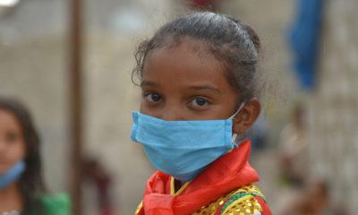 UNICEF Jabra tiene siete años y vive en Saná, capital de Yemen. Como todos, ahora está aprendiendo a lavarse la manos correctamente para prevenir el contagio del coronavirus.