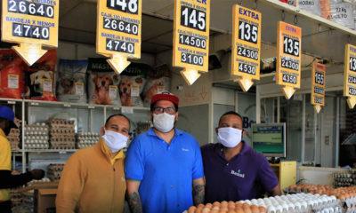 © FAO/Max Valencia El principal mercado mayorista en Chile, Lo Valledor, durante la pandemia de COVID-19
