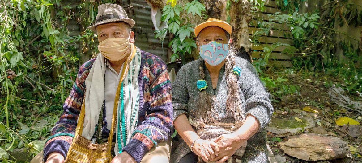 OPS / Karen González Abril Indígenas en Colombia en medio de la pandemia de COVID-19.