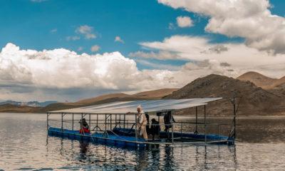 PNUD/Giulianna Camarena La comunidad Chullpia en Perú ha desarrollado paneles solares para suministrar electricidad en los proyectos de irrigación