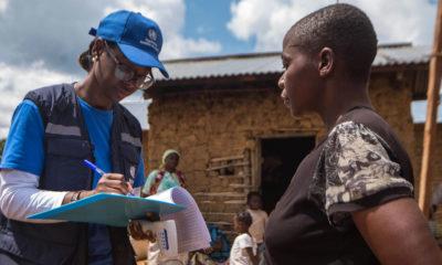 WHO/J. Kannah Marie-Roseline Darnycka Bélizaire, médica y epidemióloga de la Organización Mundial de la Salud.