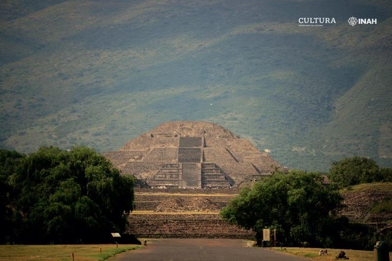 Zona Arqueológica de Teotihuacan. Foto: Mauricio Marat. INAH.