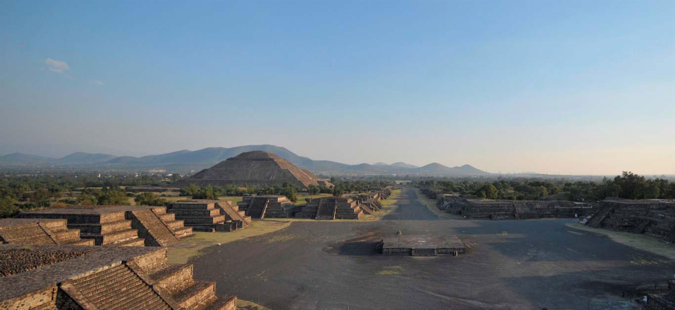 Zona Arqueológica de Teotihuacan. Foto: Mauricio Marat. INAH