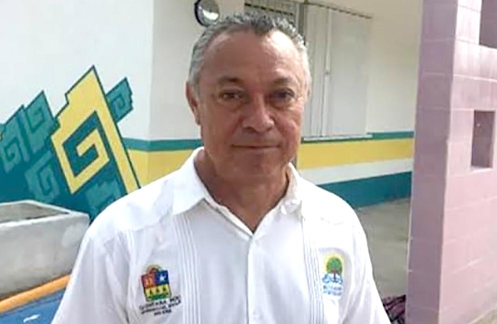 Abraham Rodríguez Herrera, director del Instituto de Infraestructura Educativa de Quintana Roo.
