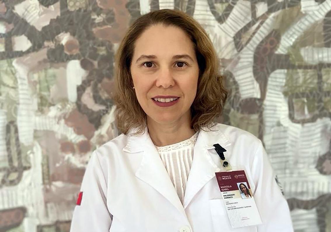 Lic. en Psicología Marisela Maldonado Marenco de la Clínica de Medicina Familiar CMFEQ12 del ISSSTE en Yucatán