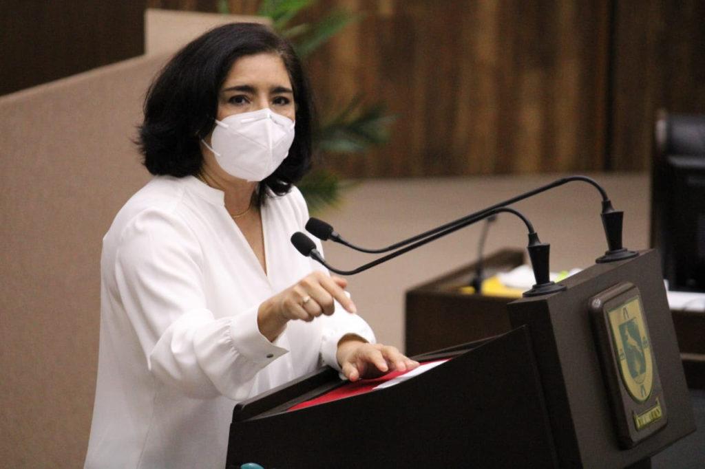 Diputada Milagros Romero Bastarrachea, de la fracción parlamentaria de Movimiento Ciudadano
