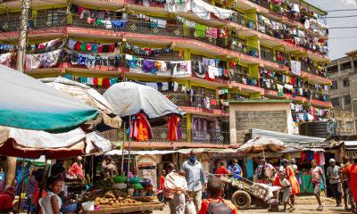 Las Naciones Unidas prevén que el 68% de la población mundial vivirá el año 2050 en zonas urbanas como Nairobi en Kenya.