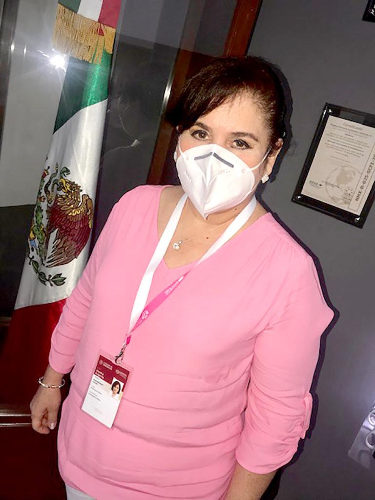 Dra. Martha Eugenia Montemayor Curiel, encargada de la Titularidad del ISSSTE en Yucatán.