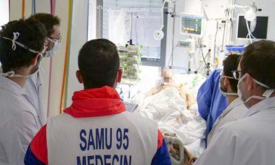 El servicio de emergencias de Francia está al frente de la crisis del coronavirus.