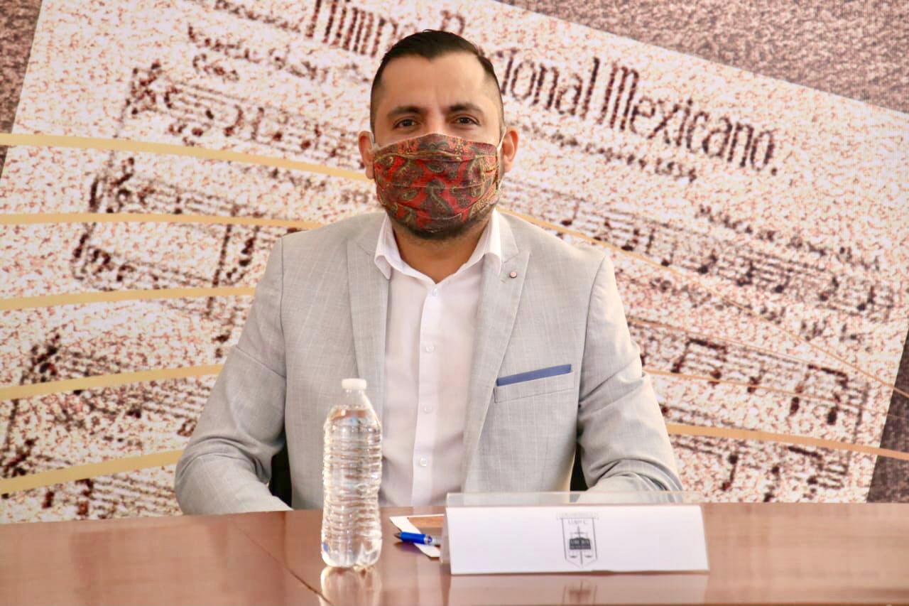 Iván Márquez, director general del Instituto de Cultura de Saltillo