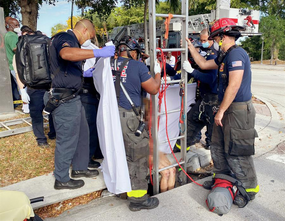 Foto: EFE/ Delray Beach Fire Rescue