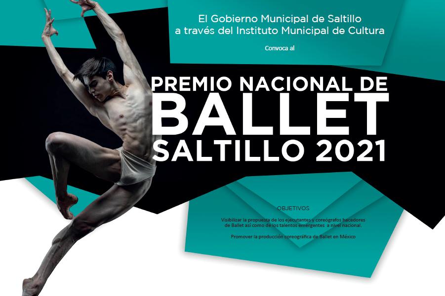 Continúa abierta la convocatoria para el Premio Nacional de Ballet Saltillo 2021