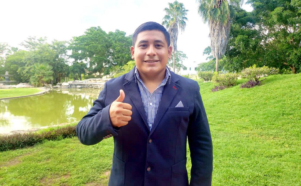 Eduardo Dzul Chulim, Coordinador en el Sureste de México de la Agrupación, SINERGIA.