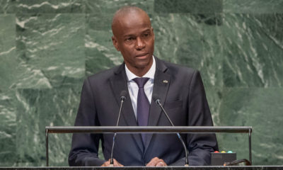 El presidente de Haití, Jovenel Moïse, se dirige a la Asamblea General. Foto de Archivo