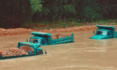 Unsplash:Jéan Béller Inundaciones en la localidad china de Shaoguan durante las lluvias extremas caídas en julio de 2021.