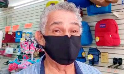 Álvaro Solís, presidente de los comerciantes de la zona centro y Quinta Avenida