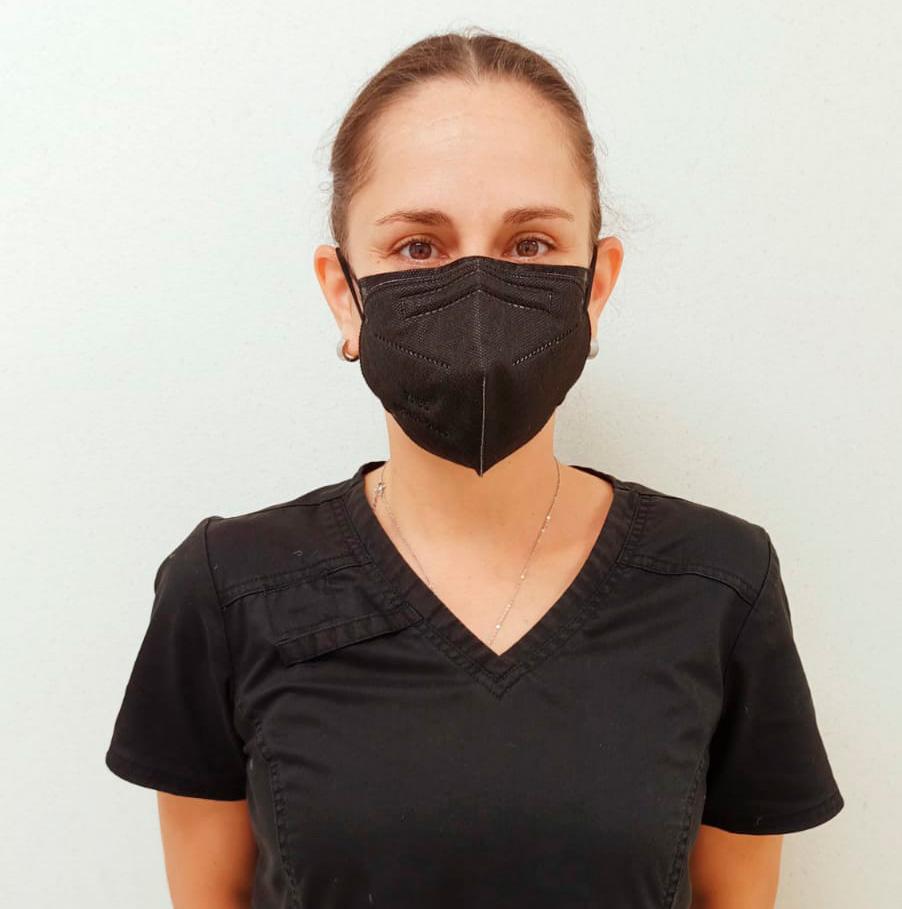 Dra. Alba Diaz de Noriega, Geriatra de la Clínica-Hospital de APP Mérida del ISSSTE  en Susulá.