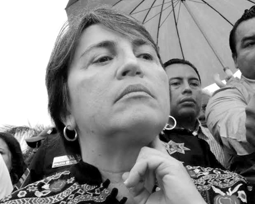 Laura Beristain Navarrete, presidenta municipal del municipio de Solidaridad