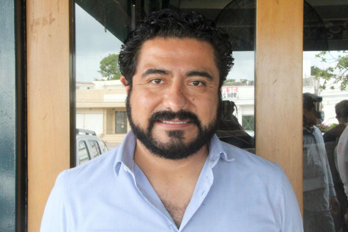 Leobardo Rojas López, presidente del PRD en Quintana Roo
